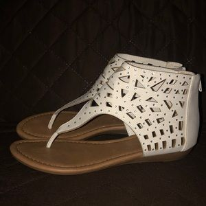 Rhinestone Strappy sandals